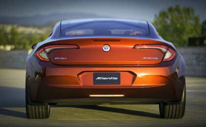 Fisker представил Atlantic Plug-in Hybrid