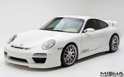 Porsche 911 (997) GTM2 в тюнинге Misha Designs