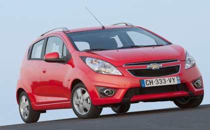 Объявлены российские цены на новый Chevrolet Spark