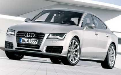 За несколько часов до премьеры появились первые фото новой Audi A 7 Sportback