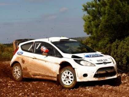 Гонщики Ford впервые опробовали новую Fiesta WRC