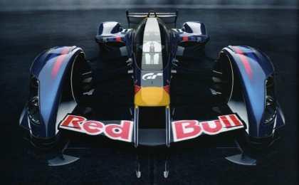 Команда Red Bull разработала гоночный автомобиль для компьютерной игры