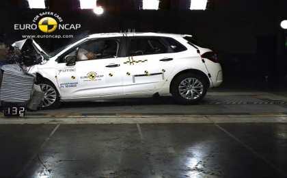 Организация Euro NCAP провела краш-тесты четырех новых автомобилей