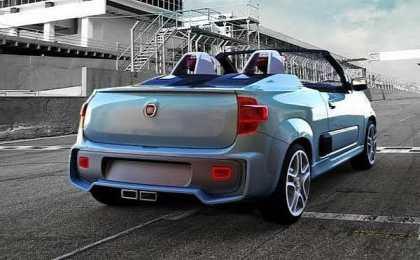 Компания Fiat разработала маленький родстер