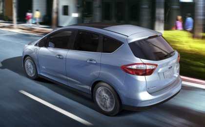 Ford опубликовал данные модели C-Max Energi