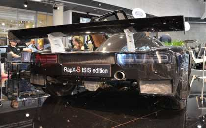 ISIS RapX-s дебютировал в Монако