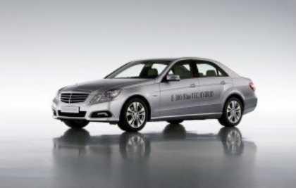 Mercedes E300 Bluetec Hybrid - первый серийный дизель-электрический гибрид