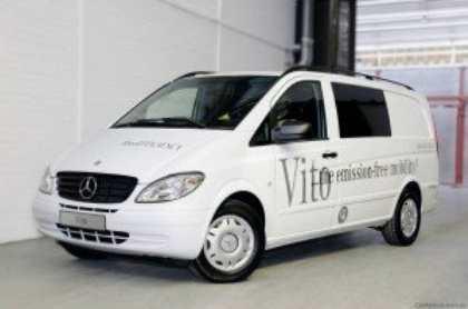 Mercedes-Benz представила обновлённый минивэн Vito