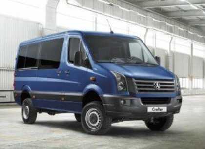 К европейским дилерам поступила полноприводная версия фургона Volkswagen Crafter