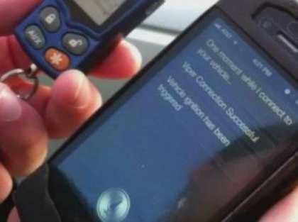 IPhone учат дистанционно управлять автомобилем