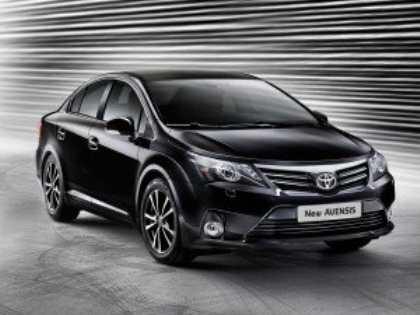 Обновленный Toyota Avensis уже доступен в украинских автосалонах