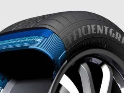 Компании Goodyear и Dunlop представили концептуальные летние автошины