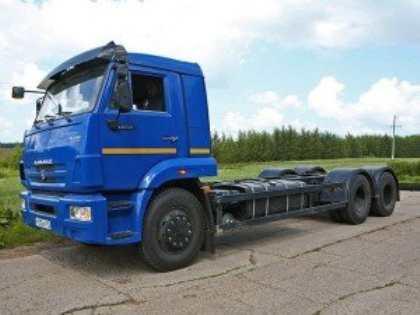 В России проходит испытание грузовика КамАЗ-65117 с пневматической подвеской