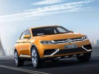 Концептуальное «кроссоверное купе» Volkswagen CrossBlue дебютирует на автосалоне в Шанхае