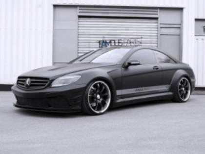 Тюнинг-ателье Famous Parts представило свое видение купе Mercedes-Benz CL500