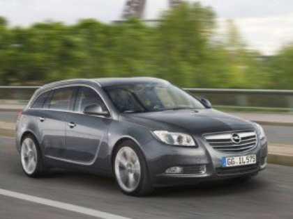 Компания Opel разрабатывает внедорожный универсал на базе флагмана Insignia