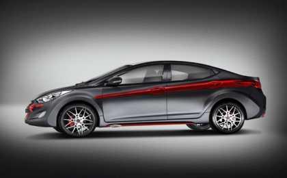 Hyundai Elantra в исполнении DC Design