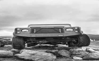 Icon оснастил Land Rover Defender 90 6,2-литровым двигателем LS3