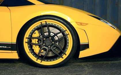Lamborghini Gallardo LP570 с дисками ADV.1 Wheels