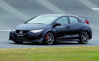 Honda показала снимки прототипа Civic Type R 2015