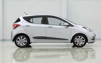 Hyundai частично рассекретил новый хэтчбек i10