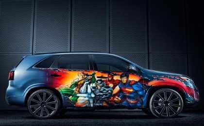 Kia представила Sorento Justice League