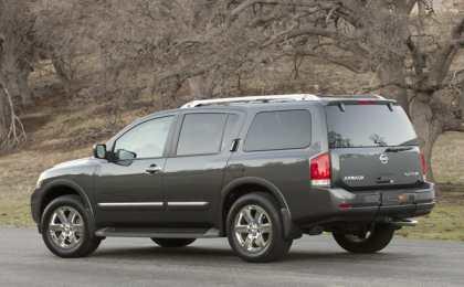 Nissan доукомплектовал внедорожник Armada 2013