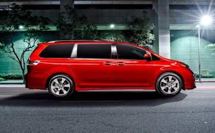 Toyota обновила большой минивэн Sienna