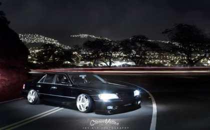 Lexus LS в VIP-тюнинге из Гонолулу
