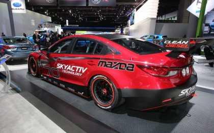 Mazda6 Skyactiv-D Grand-Am показали в Детройте