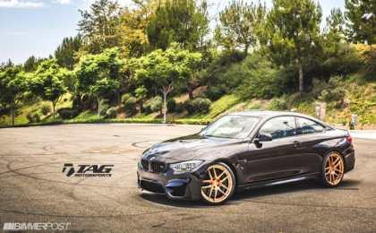 TAG Motorsports настроил BMW M4 Coupe