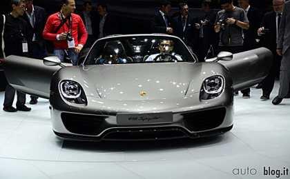 Porsche 918 Spyder - франкфуртская премьера
