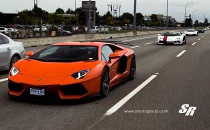 SR Auto Group на автошоу Luxury Supercar Weekend
