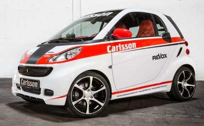 Carlsson анонсировал Race Edition Smart