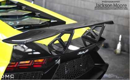 Lamborghini Aventador LP720-4 со спойлером DMC