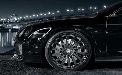 Bentley Continental GT в тюнинге Slek Designs