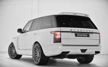 Range Rover в комплексном тюнинг-пакете Startech