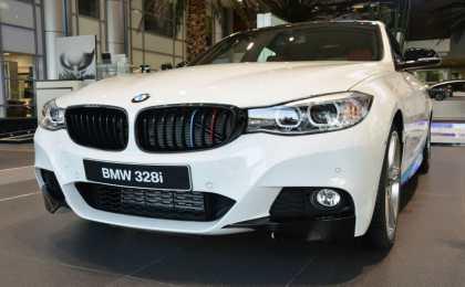 BMW 328i GT M Sport с аксессуарами M Performance