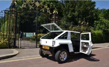 Prindiville выпустил электрическую версию Hummer