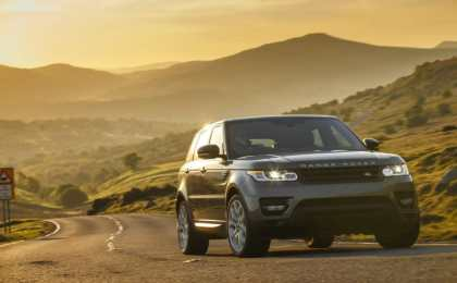 Range Rover Vogue и Range Rover Sport обновились на 2015-й год