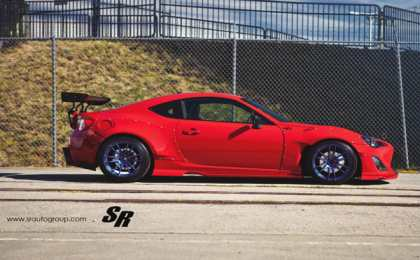 Scion FR-S от канадского тюнера SR Auto Group