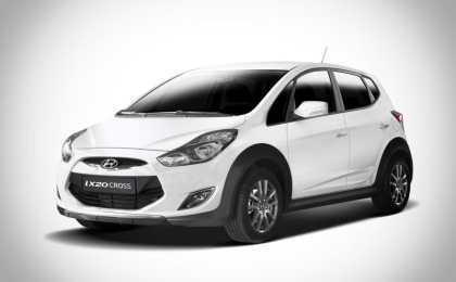 Hyundai ix20 получил вседорожную версию Cross