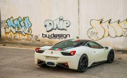 Ferrari 458 Italia в тюнинге ByDesign Motorsports