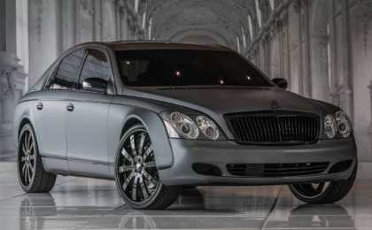 Couture Customs персонализировал Maybach 57