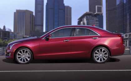 Cadillac назвал американские цены на ATS 2013