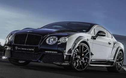 ONYX Concept представил Bentley Continental GTVX