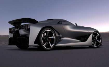 Concept 2020 Vision Gran Turismo – виртуальный суперкар от Nissan