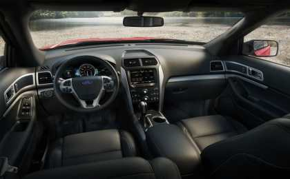 Ford слегка обновил внедорожник Explorer