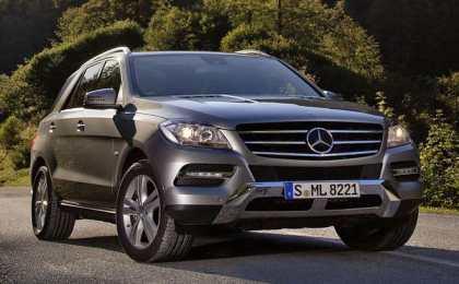 Mercedes-Benz ML 500 4MATIC BlueEFFICIENCY 2013
