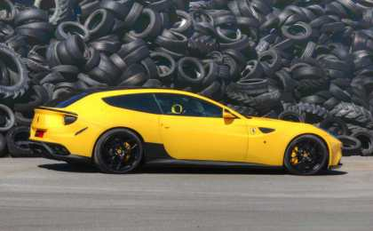 Ferrari FF в тюнинге Novitec Rosso